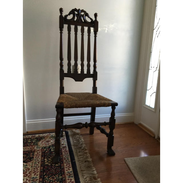 Gothic Revival Highback Chair - Image 5 of 5