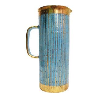 Aldo Londi for Bitossi Mid Century Ceramic Pitcher