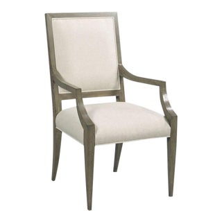 Woodbridge Callisto Taper Leg Arm Chair For Sale