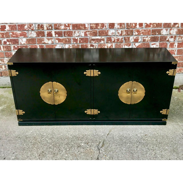 1970's Chinoiserie Permacraft Credenza For Sale - Image 13 of 13