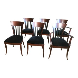 Vintage Mid Century Pace for Adam Tihany's Rebecca Chairs - Set of 6 For Sale