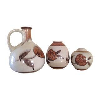 Bay Keramik West German Raymor Vases - Set of 3