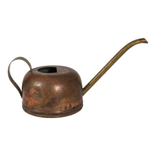 Copper & Brass Watering Can For Sale
