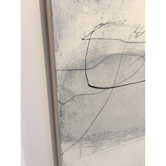 "Canvas Robert Kingston Abstract Painting ""Recuerdo"" For Sale - Image 7 of 11"