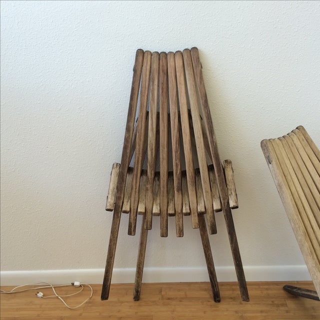 Danish Modern Clam Chairs - A Pair - Image 8 of 10