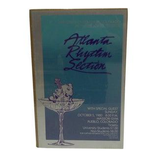 """Vintage """"Atlanta Rhythm Section""""Concert Poster For Sale"""