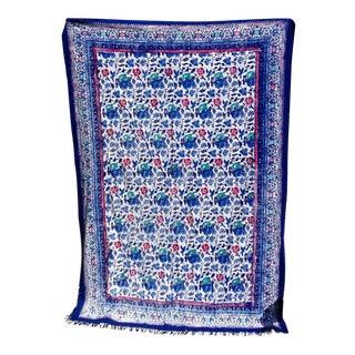Colorful Batik Throw, Java For Sale