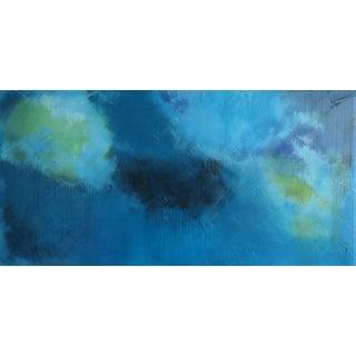 C. Damien Fox Abstract Original Oil/Acrylic on Framed Panel. For Sale