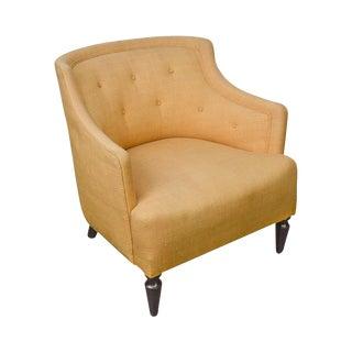 Mid Century Modern Barrel Back Club Chair For Sale