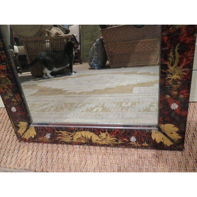 Venetian Glass Mirror For Sale - Image 10 of 11
