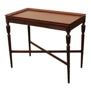 Regency Style Vintage Mahogany Side Table For Sale
