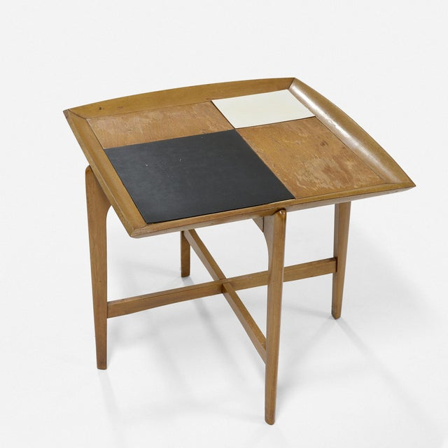 Set of Three Vintage Midcentury Modern Tables Designed by John Keal for Brown Saltman For Sale In Houston - Image 6 of 7