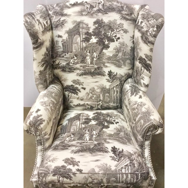 2010s Currey & Co. Kingswood Chairs - A Pair For Sale - Image 5 of 9