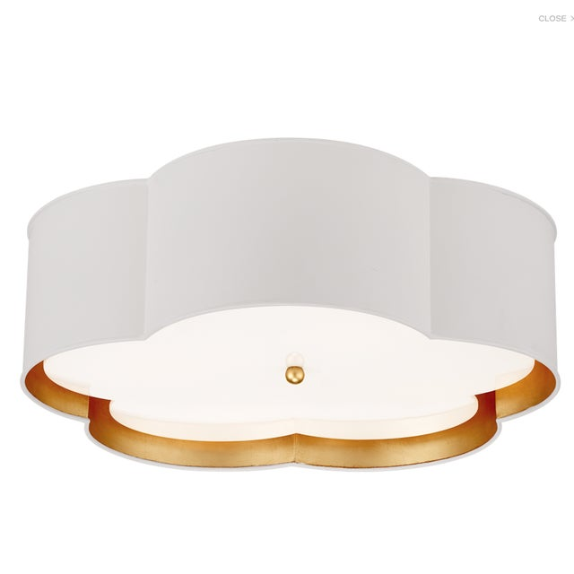 Contemporary Visual Comfort Bryce Large Flush Mount For Sale - Image 3 of 3
