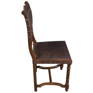 Dining Chairs Antique French Henry II Renaissance - Set of 6 Preview