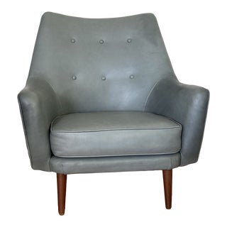 Mid-Century Modern Chair in the Style of Hans Olsen for Christian Sorensen & Co. For Sale