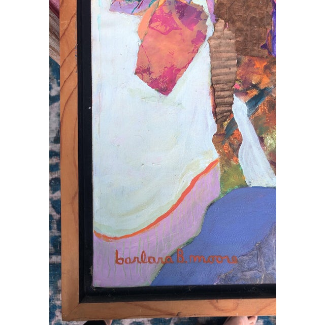 Contemporary Barbara B. Moore Abstract Painting For Sale - Image 3 of 4