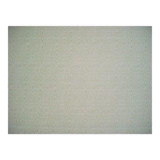 Bella Dura Dart Aqua Green Chevron Upholstery Fabric- 4 1/2 Yards For Sale