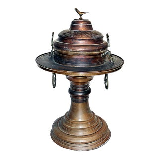 Copper Temple-Sized Censer For Sale