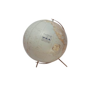1950s Mid-Century Modern Pan Am Globe For Sale