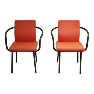1980s Ettore Sottsass Memphis Mandarin Chairs - a Pair For Sale