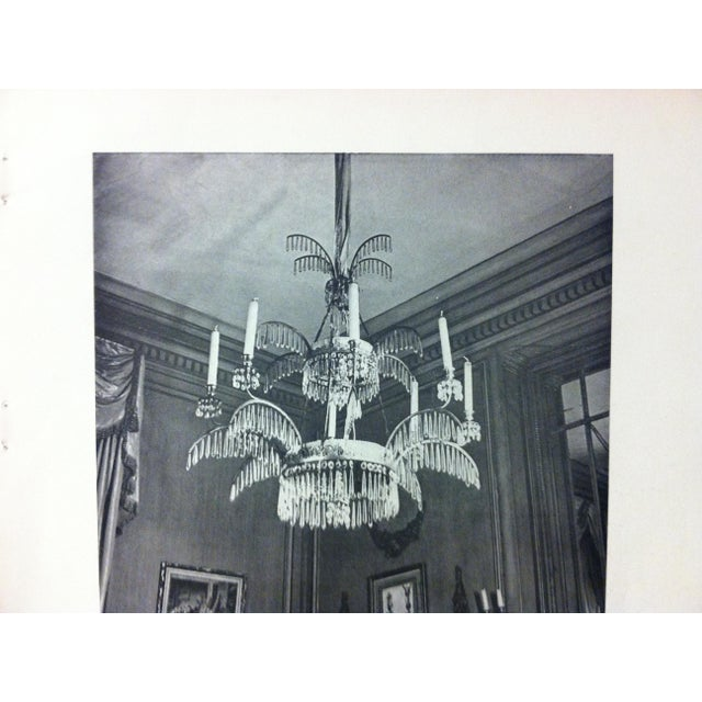 """French 1946 """"Chandelier"""" Art Et Style French Print For Sale - Image 3 of 4"""