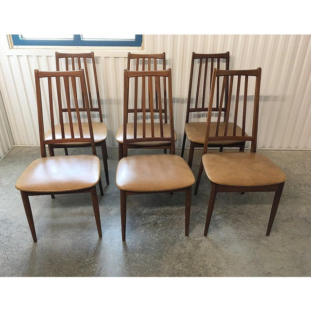 Immaculate Danish high back chairs. Immaculate