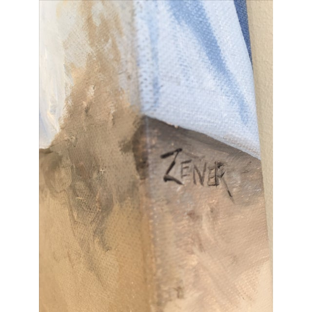 Original Oil Painting on Wood by Eric Zener - Image 4 of 8