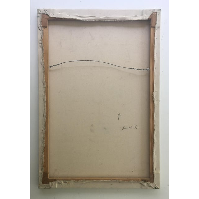 White Abstract Painting by Paul Rinaldi For Sale - Image 8 of 8