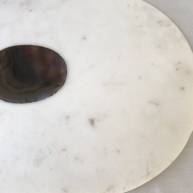 Vintage Stone Accented Kitchen Board For Sale - Image 4 of 6
