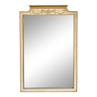 John Widdicomb Hand-Painted Wall Mirror For Sale