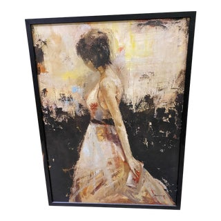 Contemporary 'Beautiful Lady' Painting For Sale