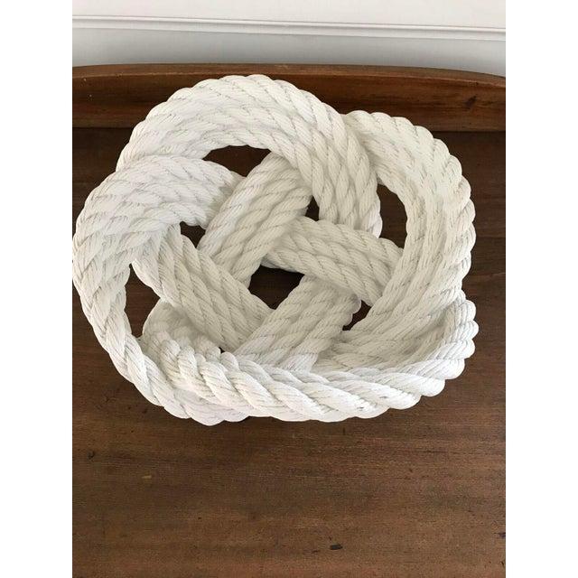 Cast Ceramic Rope Bowl - Image 3 of 4