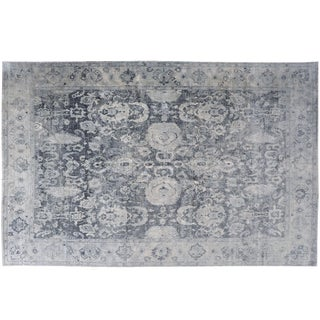 Stark Studio Rugs Traditional New Oriental Silk Rug - 8′11″ × 12′5″ For Sale