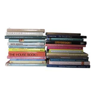 Interior Design Book Collection- 24 Pieces For Sale