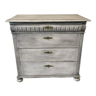 Swedish Antique Painted Commode Chest of Drawers For Sale