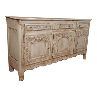 Antique French Painted Oak Buffet, circa 1860 For Sale