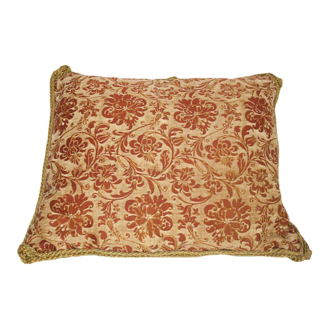 Vintage Fortuny Pillow For Sale