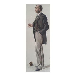 Original 1882 Vanity Fair Doctor / Scientist Print - a Naturalist