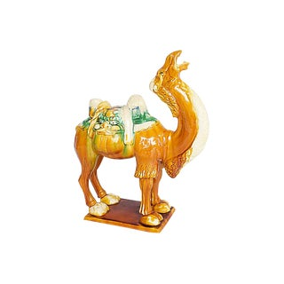 Large Tang-Style Camel Sculpture For Sale