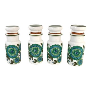 Vintage Spice Jars - Set of 4 For Sale