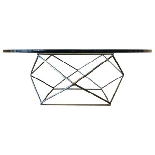 Mid-Century Modern Milo Baughman for Directional Geometric Coffee Table For Sale