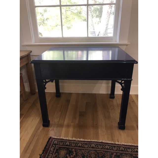 1970s Vintage Henredon Chippendale Side Table For Sale In New Orleans - Image 6 of 10