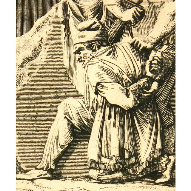 Antiquities Roman Empire Engraving, C. 1750 - Image 3 of 4