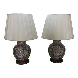 Late 20th Century Table Lamps - A Pair For Sale