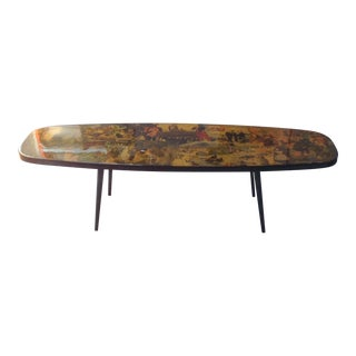 Barry Kite Collage Coffee Table For Sale