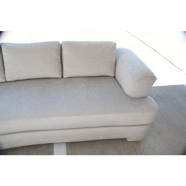 Marge Carson Hollywood Regency Sofa and Chairs Redone in Knoll Summit Fabric For Sale In Palm Springs - Image 6 of 13
