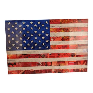 Americana Flag Collage For Sale