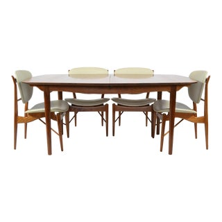 Finn Juhl Dining Table and Chairs For Sale