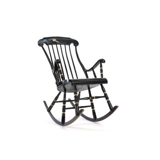 19th Century Vintage Swedish Gungstol Rocking Chair Preview